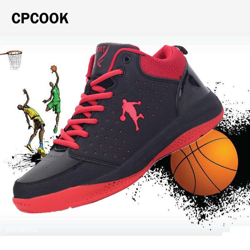 2017 marki męskie oddychające buty do koszykówki Outdoor