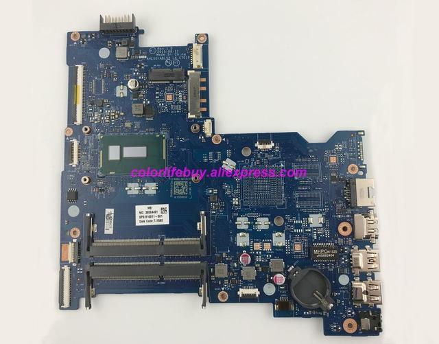 Genuine 816811 501 816811 001 816811 601 LA C701P w i3 5010U UMA Motherboard for HP 15 AC Series 15T AC000 NoteBook PC