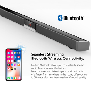 Image 3 - XGODY SR100 Plus Bluetooth Soundbar 40W Home Theater TV Sound Bar Wireless Speaker Aux In Coaxial Optical Subwoofer Speakers
