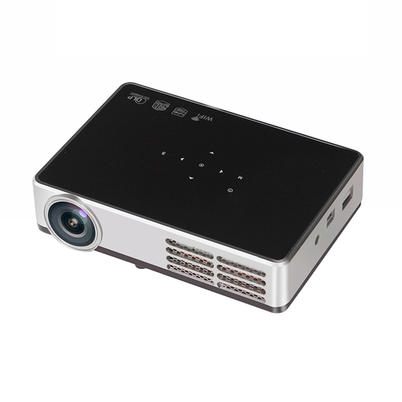 Portable Android Handle Dlp600W Wifi Home Theater Hd Mini Smart Projector With Wired Sync Display For Iphone(Us Plug)Portable Android Handle Dlp600W Wifi Home Theater Hd Mini Smart Projector With Wired Sync Display For Iphone(Us Plug)