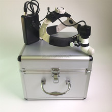 Medical Headlight 5W LED Headlamp Dental Surgical Brightness Adjustment Aluminum Box