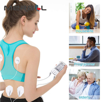 tens 16USB Electrode Body Health Care Tens Acupuncture Electric Therapy Massager Meridian Physiotherapy Massager Apparatus