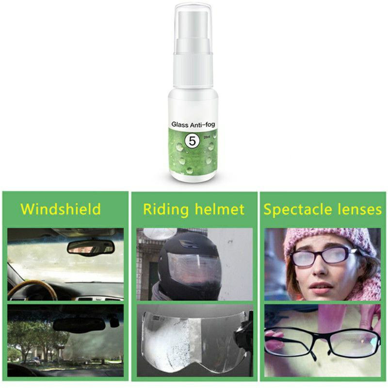 Window-Glass Spray Bathroom-Cleaner Agent Rainproof Car HGKJ-5 Car-Accessory TSLM1 Anit-Fog title=