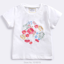 71b2424e1217 Kids t shirt Baby Girl Clothes Summer New 2019 Quality 100% Combed Cotton  Baby Girls