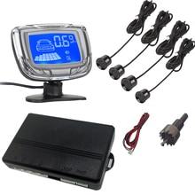 цена на Car Parking Sensors 4 Reverse Sensors Parktronic Radar Detector LCD Digital Car Parking Sensor Radar Monitor Detector System