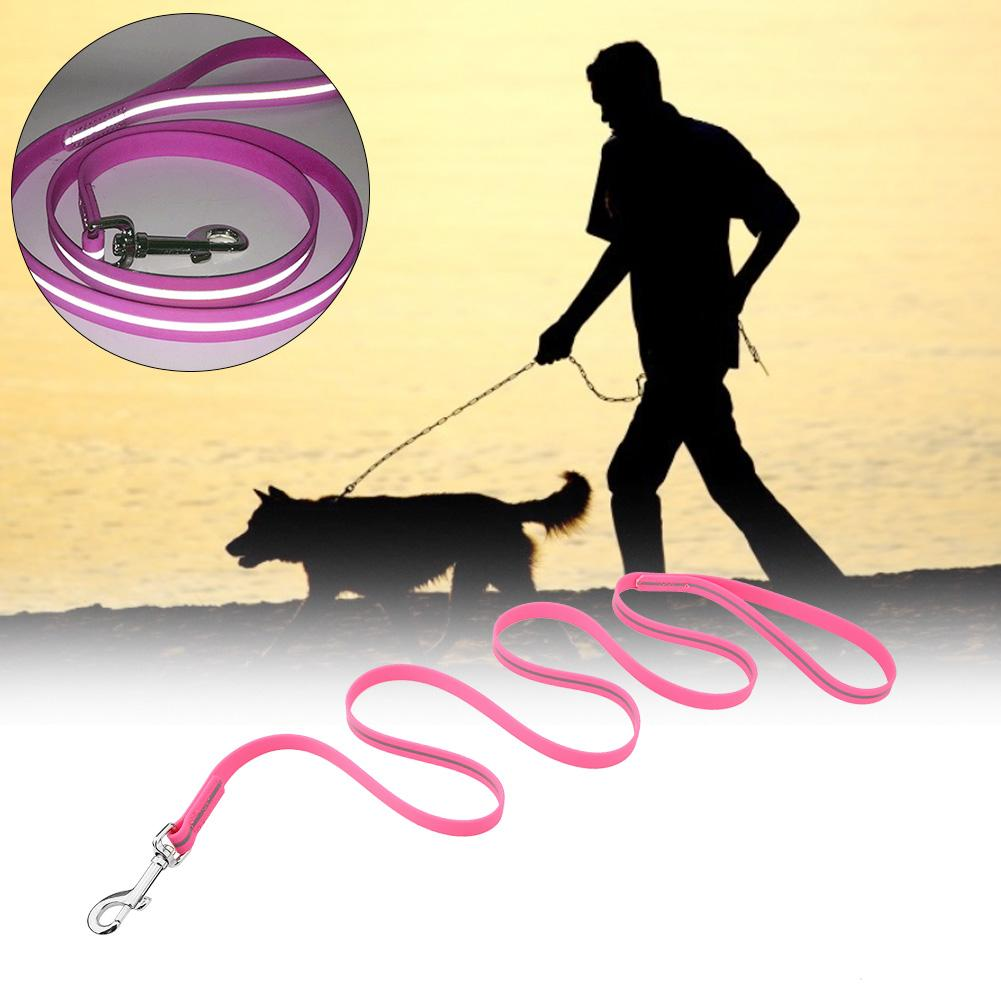 High Quality Wear-Resistant and Dirty PVC Waterproof Reflective  Durable Strong Leashes Traction Rope New