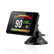 VODOOL 3.9 Inch TFT Screen Head Up Display OBD2 Car HUD Speedometer RPM Meter Car Electronics Accessories Head-up Display