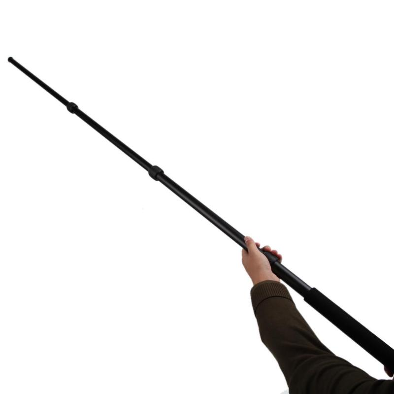 Micro Boom Pole Microphone Mic Holder 3 Section Boompole 67.5inch Extension Mic Stand Ajustable Stage Tripod Metal