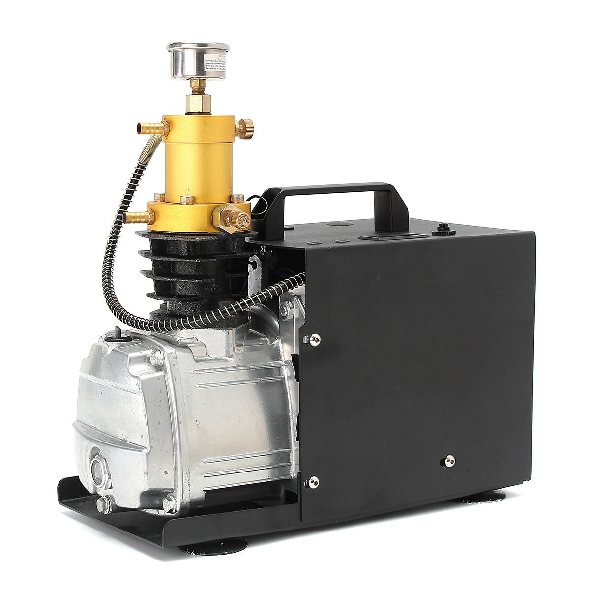 110/220V 300BAR 4500PSI High Pressure Air Pump PCP Electric Air Compressor For Pneumatic Airgun Scuba Rifle PCP Inflator