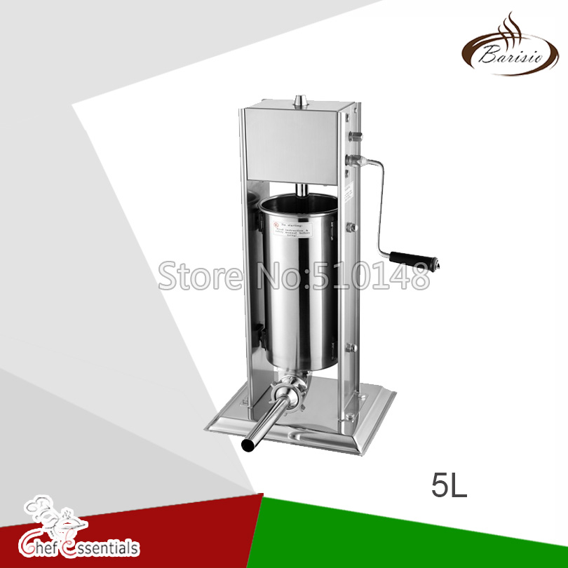 5L Stainless steel manual sausage filler two speed  home commercial use5L Stainless steel manual sausage filler two speed  home commercial use