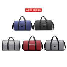 2 In 1 Hanging Suit Travel Bag Luggage Duffle Garment Bags with Shoulder Strap Hot Sale