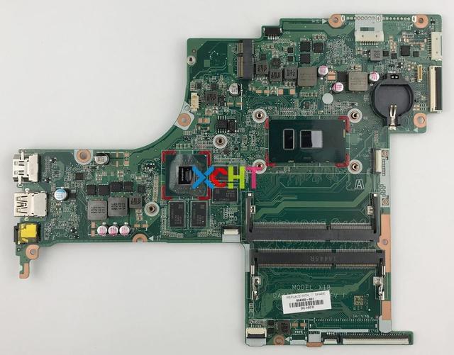 904360 601 w 940MX/4 GB i7 7500U CPU DAX1BMB1AF0 für HP ENVY NOTEBOOK 17 S Serie 17T S100 Laptop Notebook motherboard Getestet