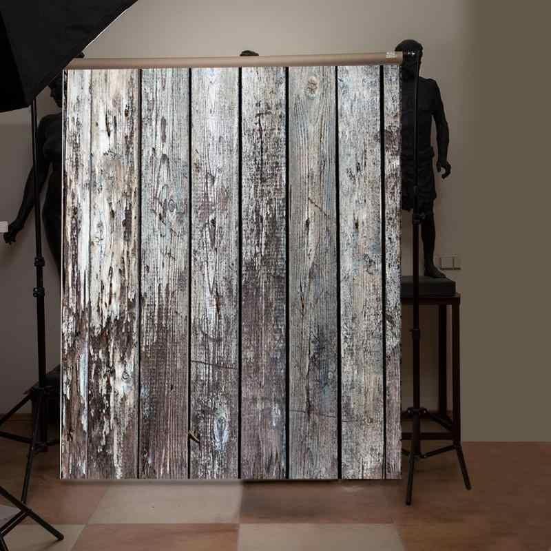 1 pièces toile de fond pour accessoires photographiques bois planche Texture photographie décors Art tissu Photo fond tissu