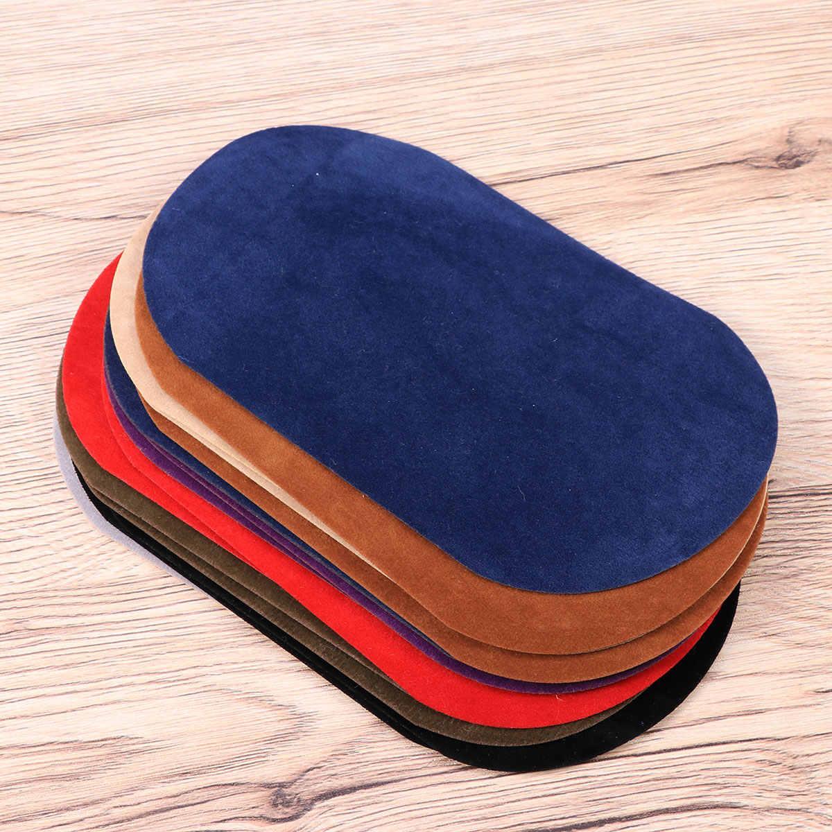 16 шт. железные заплатки Джинсы Свитера рубашка колено локти заплатка DIY ремонт аппликация для брюки шарф одежда кронштейн