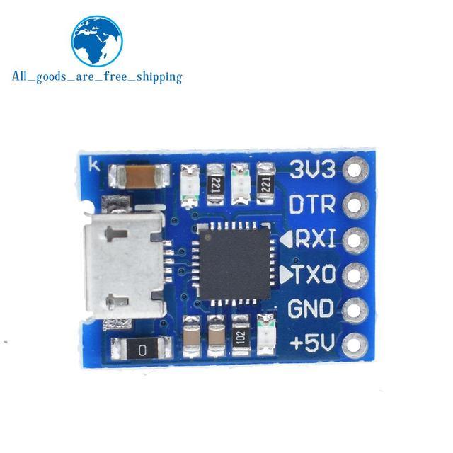 TZT CJMCU CP2102 マイクロ USB UART TTL モジュール 6Pin シリアルコンバータ UART STC 交換 FT232 新 arduino の