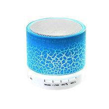 TF USB Flashing Bluetooth Speaker Wireless Playback Mini Subwoofer LED Lights Supports U Disk TF Card FM Radio цена и фото