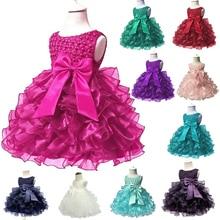 Кружевная пачка принцессы для маленьких девочек 0-24 месяцев, платье для маленьких девочек, бальное платье для маленьких девочек, платье для свадебной вечеринки, Vestidos, для детей 1 года, на день рождения