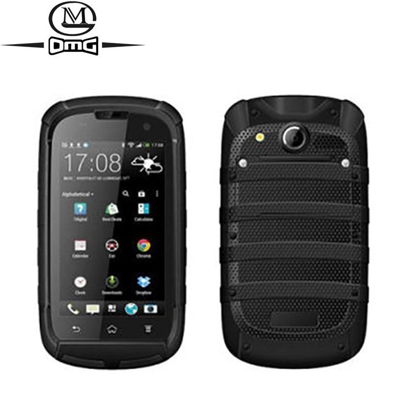Smartphone étanche antichoc 3G Android MTK6572 téléphone Mobile double noyau langue russe double carte SIM débloqué téléphones portables