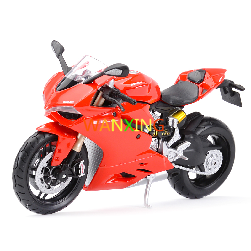 1/12 Alloy Motorcycle Model Diecasts Toy Vehicles Static Simulation Locomotive Gift Collection toys for children Free Shipping