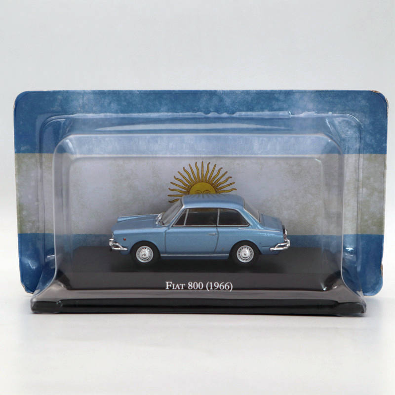 IXO <font><b>Fiat</b></font> 800 1966 Collection Diecast Toys <font><b>Models</b></font> Limited Edition <font><b>1</b></font>:<font><b>43</b></font> <font><b>Cars</b></font> image