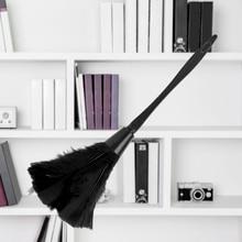 Щетка для пыли с длинной ручкой, инструменты для домашней уборки, 4 цвета, мягкий Пыльник из перьев индейки для чистки мебели, автомобиля