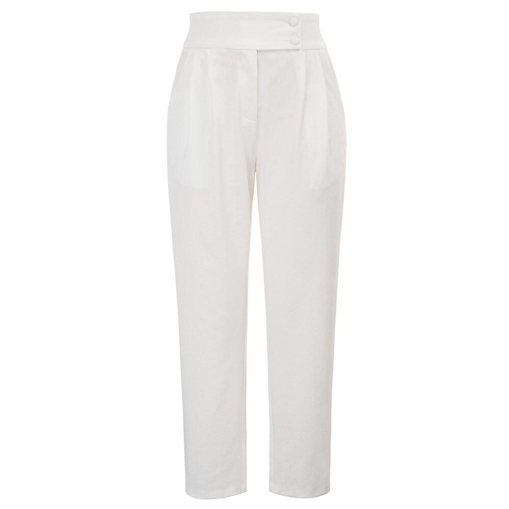 Plus Size Women Flare   Pant   Elegant Work Big Size Casual Cropped   Capri     Pants   Female Plain High Waist Trousers Bottoms