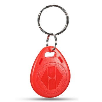 100pcs Cle ID RFID Remote Control Identification Card Door System Entry Access Tag Badge token lock 125KHZ Red 1