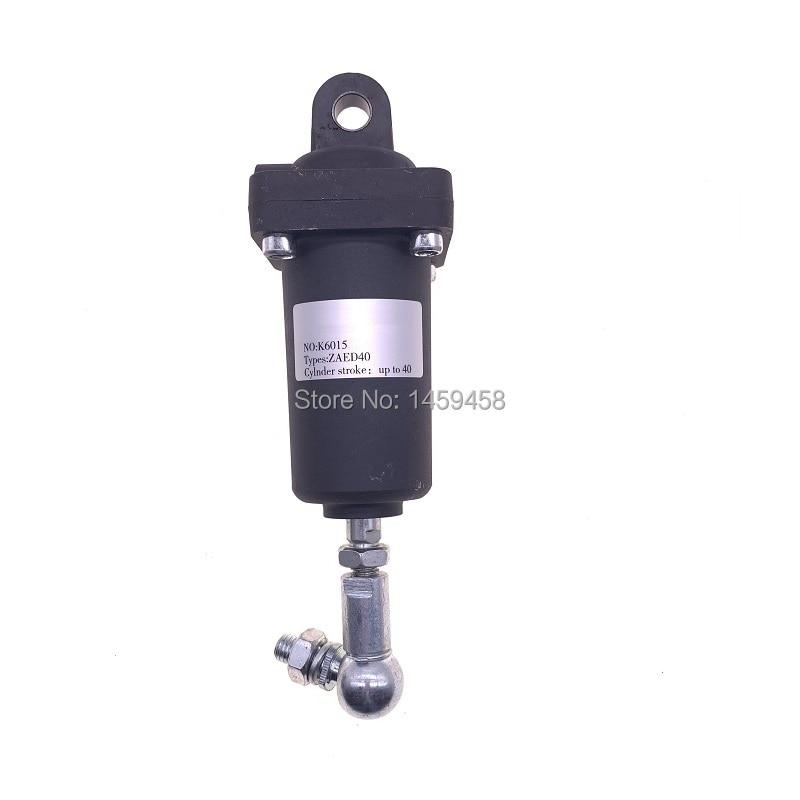 Livraison gratuite alternative Hoerbiger cylindre d'air K6015 = ZAED40 23-A10417 Piston vérin hydraulique