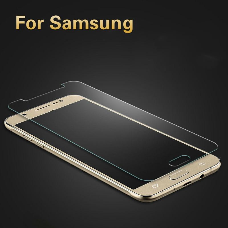 2.5D Arc Tempered Glass For Samsung Galaxy J3 J5 J7 2017 Screen Protector On SM J330F J530F J730F Protective Glass Film DUAL SIM