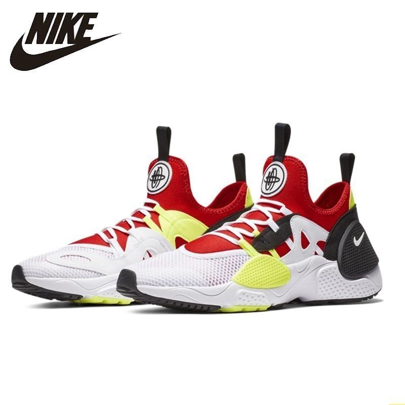 Nike HUARACHE E.D.G.E.TXT Original Men Running Shoes White University Red Comfortable Breathable Sneakers #AO1697-100Nike HUARACHE E.D.G.E.TXT Original Men Running Shoes White University Red Comfortable Breathable Sneakers #AO1697-100