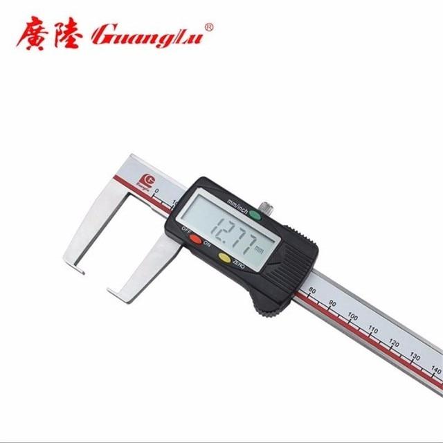 Single outer groove cursor digital caliper round head flat head outer groove digital caliper 0-150-200-300mm