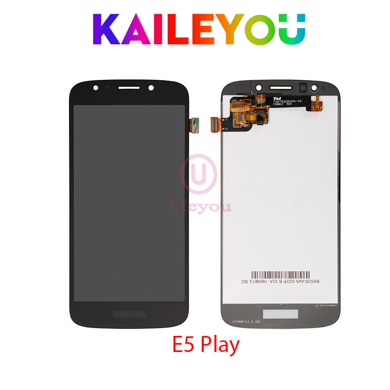 LCD for Motorola for Moto E5 Play Display Touch Screen Digitizer Assembly for Moto E5 Play LCD 5.2 Replacement Free ShippingLCD for Motorola for Moto E5 Play Display Touch Screen Digitizer Assembly for Moto E5 Play LCD 5.2 Replacement Free Shipping
