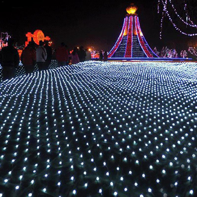 LED String Lights Net Christmas Lights Fishing Net Lights Outdoor Waterproof And Decorative LED Wedding Ceremony String Lights LED String Lights Net Christmas Lights Fishing Net Lights Outdoor Waterproof And Decorative LED Wedding Ceremony String Lights