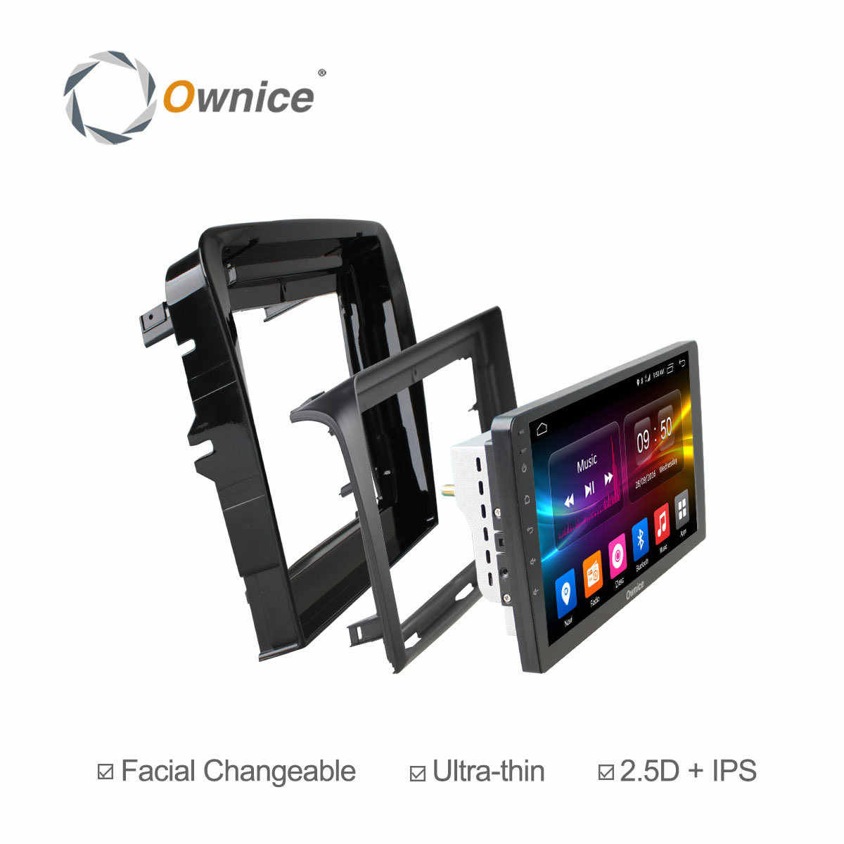 Ownice C500 + G10 Android 8.1 Car Audio VOOR MITSUBISHI L200 Trion 2007-2014 dvd gps speler navigatie hoofd unit 8 Core 32G ROM