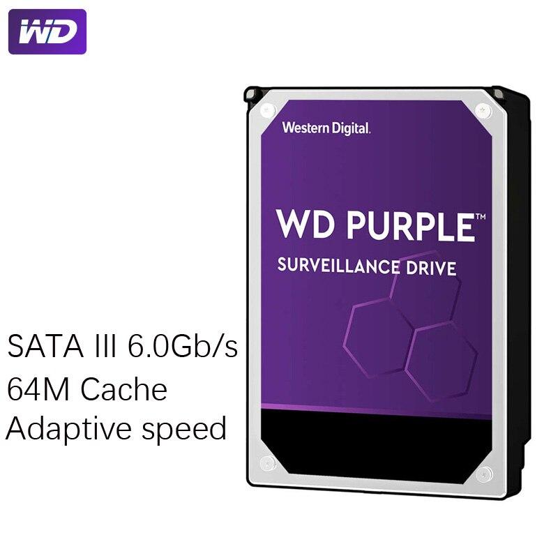 "WD PURPLE Surveillance 1TB Hard Drive Disk SATA III 64M 3.5"" HDD HD Harddisk For Security System Video Recorder DVR NVR CCTV 4"