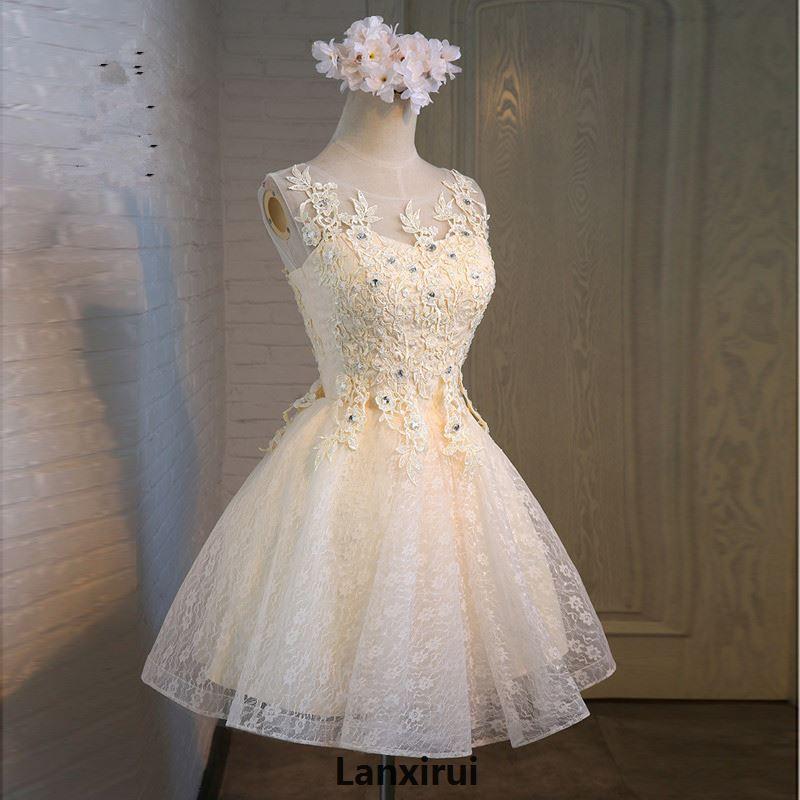 3 couleurs femmes fille dentelle robe élégant Vintage appliques perles plissée robe de soirée robe de soirée robe formelle