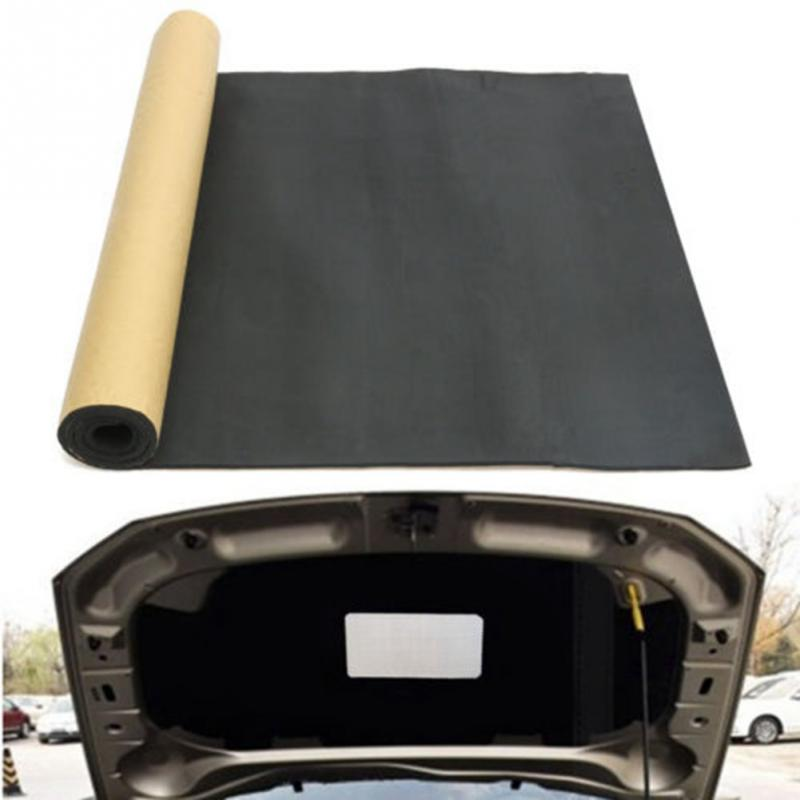 200cmx100cm Universal Car Sound Proofing Deadening Heat Insulation Closed Cell Foam Auto Self Adhesive Home Acoustic Panel