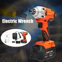 Brushless Cordless Electric Wrench Impact Socket 20V 13800mAh Rechargeable Battery Hand Drill Power Tools High Torque 320 Nm