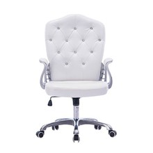 цена на Style Lifted Computer Chair Household Multi-function Swivel Chair Rotated Office Executive Chair Slidable Makeup Stool