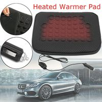 Winter 1 Pcs 12V 45 x 40 cm Universal Car Heated Seat Cushion Covers Heating Pad Keep Warmming Heat Seat For Winter Interior|Automobiles Seat Covers| |  -