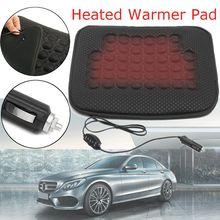 Зима 1 шт 12 V 45×40 см универсальные автомобильные сиденья с подогревом наволочки грелку держать Warmming теплое сиденье для зимнего интерьера