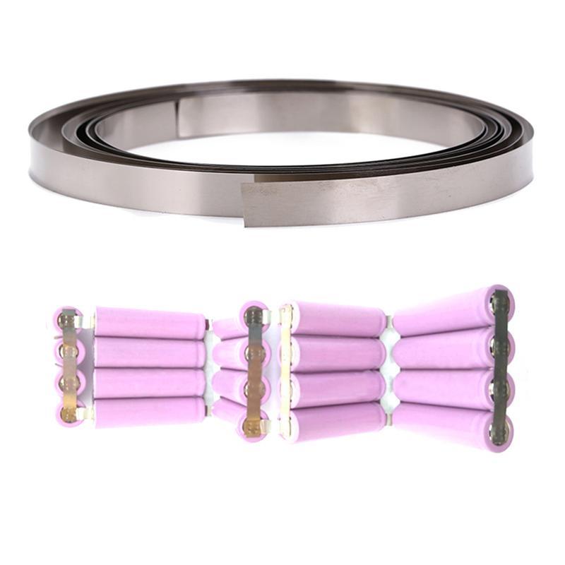 Werkzeuge Besorgt Große 8mm X 0,1/0,12/0,15 Nickel Überzug Stahl Streifen Band Für Li 18650 Batterie Spot Schweißen Kompatibel Für Spot Schweißer Maschine Hell In Farbe