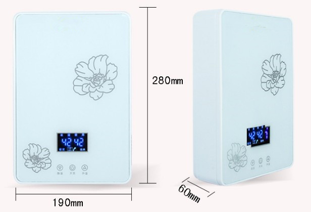 7000W Instant Electric Tankless Water Heater Instantaneous Water Heater Instant Electric Water Heating fast 3 seconds hot shower 3400w instantaneous water heater instant electric tankless water heater instant electric water heating shower 3 seconds hot