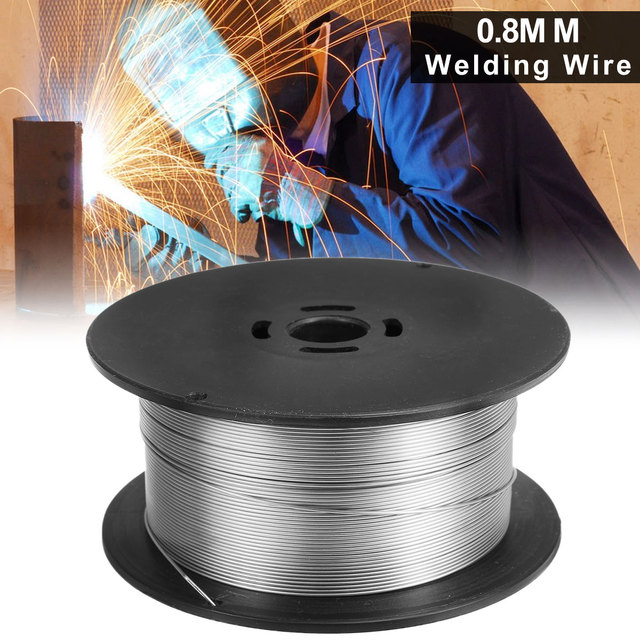Flux Core Welding Wire >> Us 23 61 28 Off 1 Roll 1kg Stainless Steel Gasless Mig Welding Wire 0 8mm Flux Cored Welding Accessories For Food General Chemical Equipment In