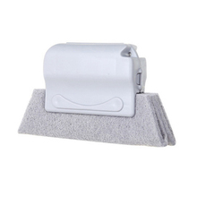 2019 Window Groove Cleaning Brush Cleaning Tool Sweeping The Small Brush To Clean The Window Sill Crevice Brush Gray