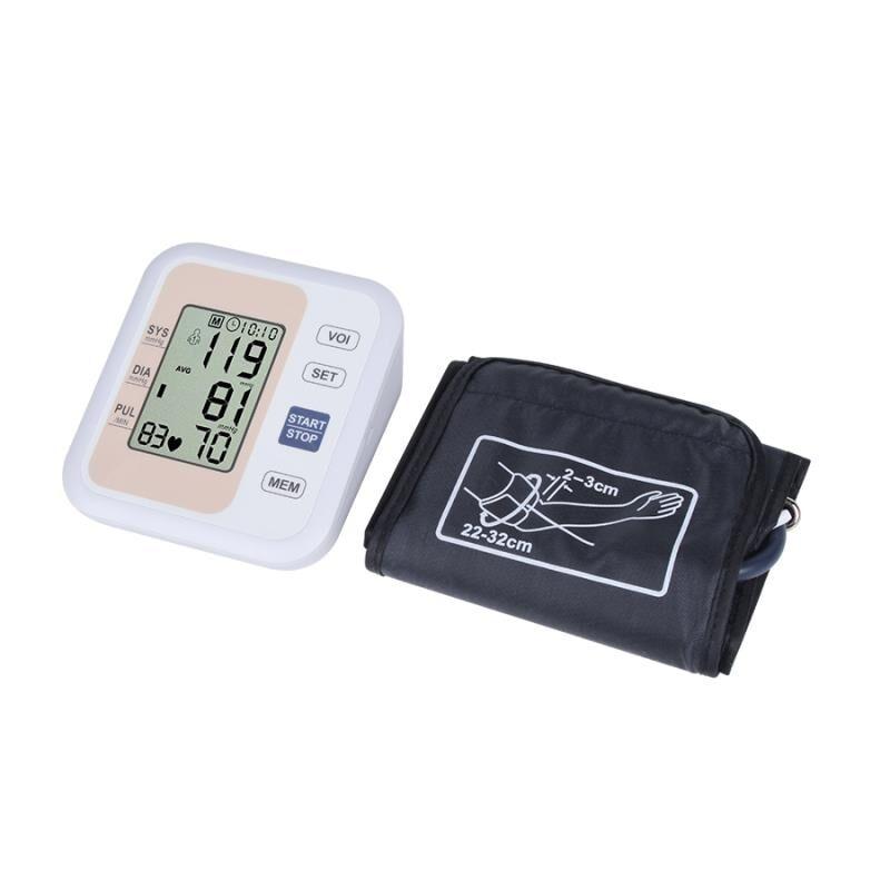 Automatisk digital øverste armblodtryksmåler Heart Beat Rate - Sundhedspleje - Foto 6