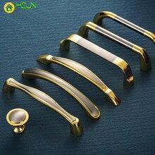 2 pcs zinc alloy door handle cabinet pull drawer handles cupboard Wine Cabinet Knobs gold Handles стоимость
