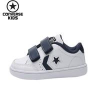 CONVERSE детская обувь для мальчиков Для Досуга кроссовки осень и Новинка зимы мужчины детская обувь # 762863C