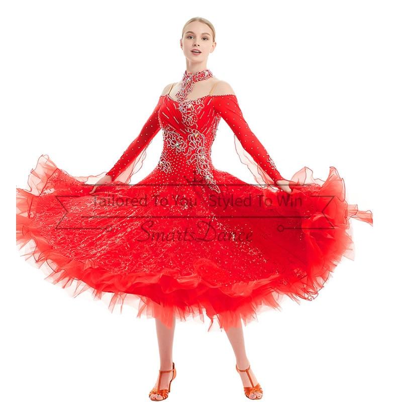 edb8c4defa7 Cheap Práctica de baile trajes estándar vestidos de baile vestido para baile  de salón de baile