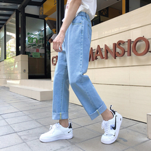 2019 Spring Fashion Brand jeans man Men Neutral Trousers streetwear denim street wear Pants B420 mens clothing